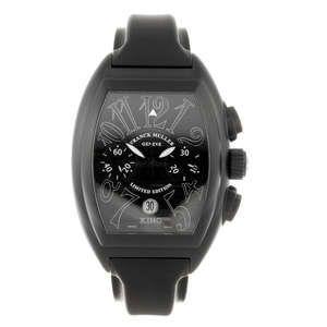 FRANCK MULLER - a gentleman's Conquistador chornograph wrist watch