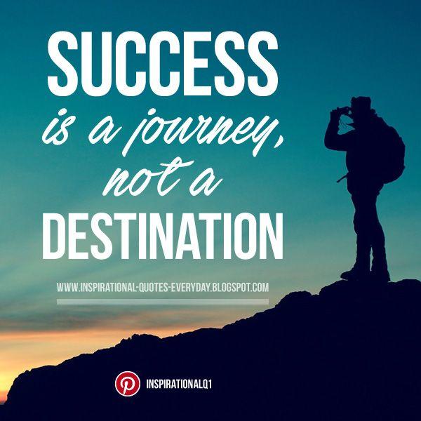 Success is a journey, not a destination. #quotes # ...