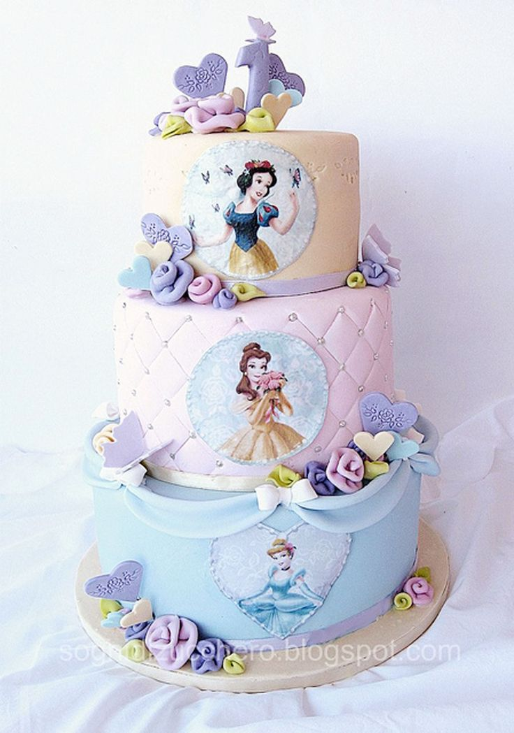 Disney Cake Designs Princesses : Disney Princess Birthday Cake Pictures Birthday Cake ...