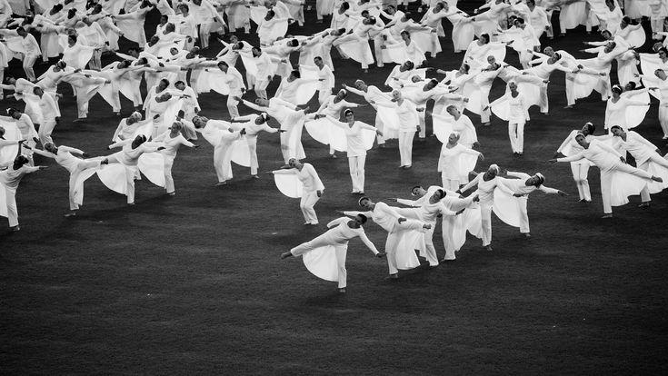 Gymnaestrada Olympiastadionilla Helsingissä 15. heinäkuuta 2015. Kuva: Morgan Walker Suomi tänään