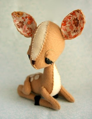 ☃ Plush Toy Preciousness ☃  Bambi by Skunkboy Creatures