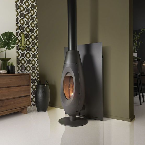 po le granul s de bois 6 kw convection naturelle. Black Bedroom Furniture Sets. Home Design Ideas