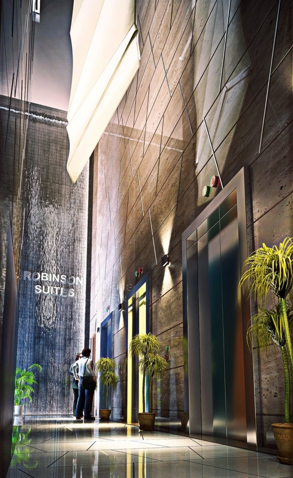 Robinson Suites Singapore - Lift Lobby