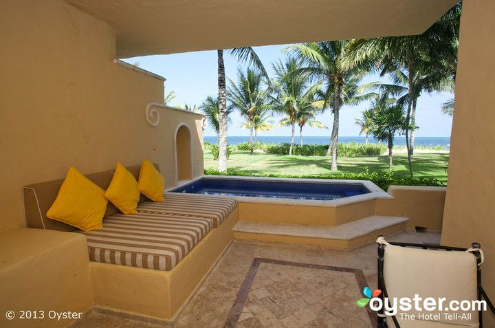 Plunge Pool Cost | The Suite with Plunge Pool at the Zoetry Paraiso de la Bonita Riviera ...