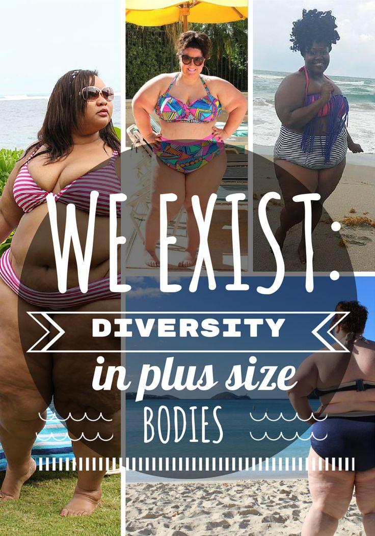 We Exist: Diversity In Plus Size Bodies