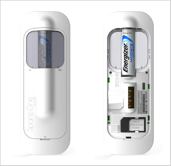 SpareOne, A $50 Cell Phone That Runs On One AA Battery