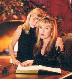 Stevie w/ Her Niece Jessi In Phoenix c.2002