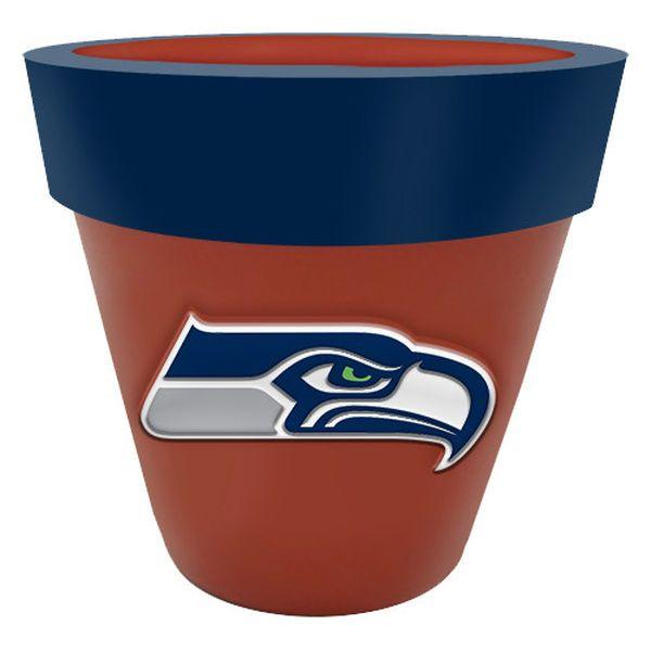 Seattle Seahawks Team Planter Flower Pot - $29.99