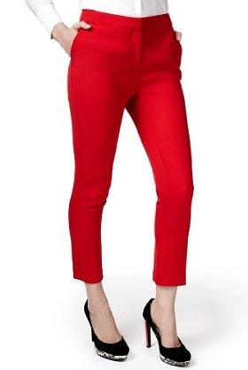 Per Una Speziale Tapered Slim Leg Capri Trousers