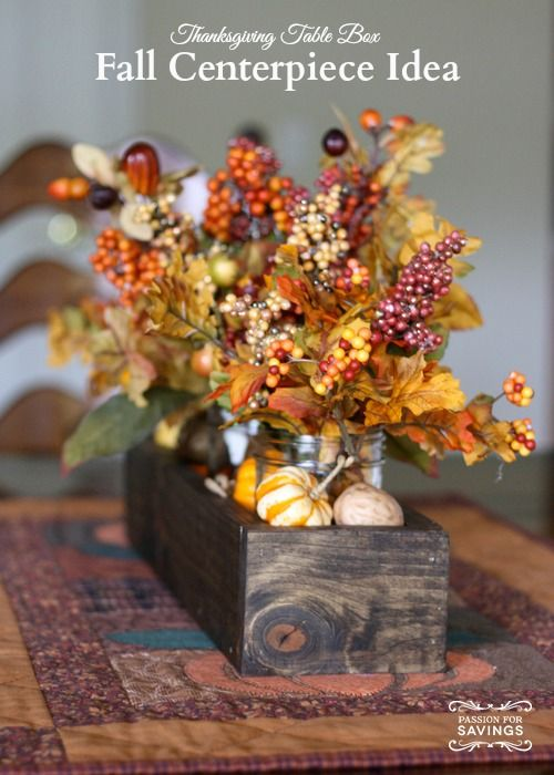 66 best fall diy projects images on pinterest fall decorating autumn and craft - Fall arrangements for tables ...