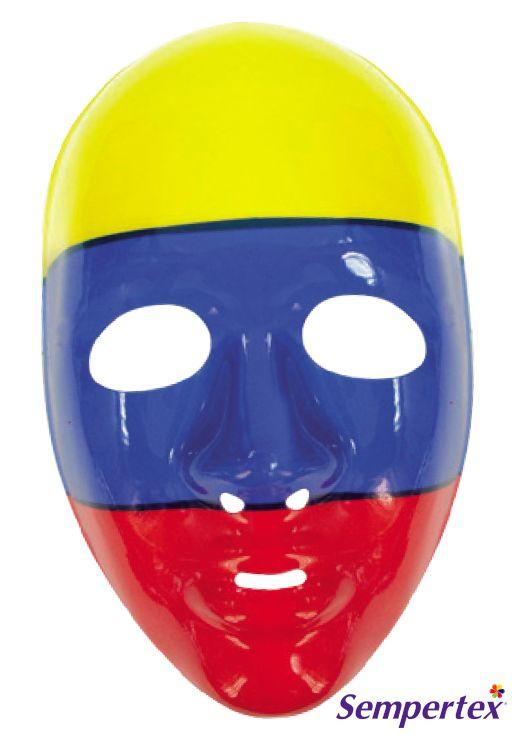 Máscara Colombia