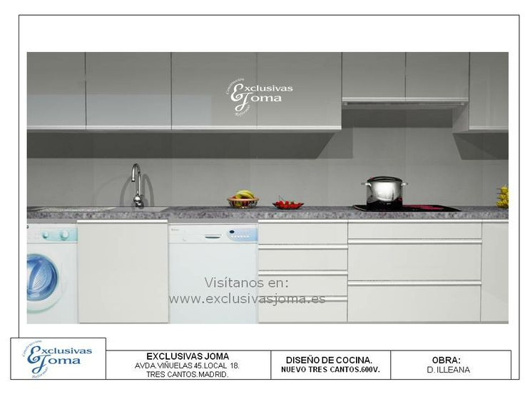 163 best Diseños en 3D cocinas images on Pinterest | Kitchens, Homes ...