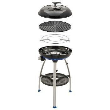 FREE Cadac Chef BBQ Cover worth £8.04  All-in-one outdoor cooking convenience. The portable CADAC Carri Chef BBQ offers you an unequalled number of cooking solutions for your outdoor cooking needs. So if you're contemplating your next camping trip, caravanning holiday, or merely for your home patio or gardening entertaining.   The die-cast BBQ grill is non-stick coated for easy cooking and cleaning, while the pot stand is chrome nickel plated for durability. #cadac #gas #bbq