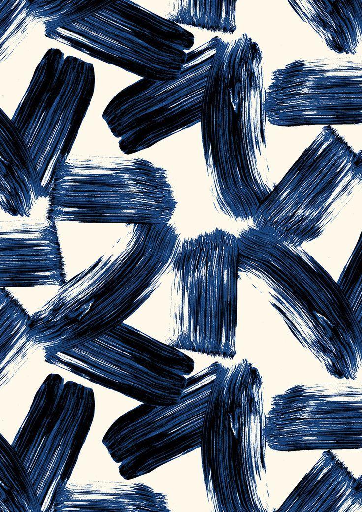 Sobre una hoja de periódico dibujaremos estampaciones con los dedos y las manos en color negro, creando un paisaje.