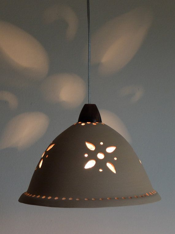 Cream ceramic ceiling light lighting light fixtures by Gallight