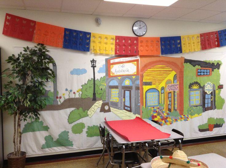 Spanish Teacher Classroom Decorations : My high school spanish classroom teaching