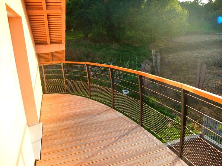 Les 25 meilleures idées concernant Balustrades De Terrasse sur ...