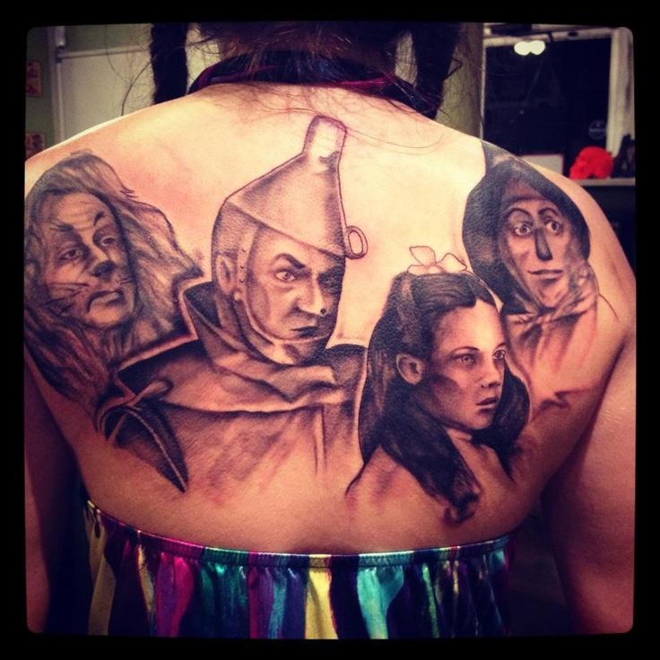 Syracuse - Dawn of Time Tattoo (TIP HILL)   Oz.....