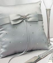 Platinum by Design Wedding Ring Bearer Pillow @ weddingfavoursaustralia.com.au