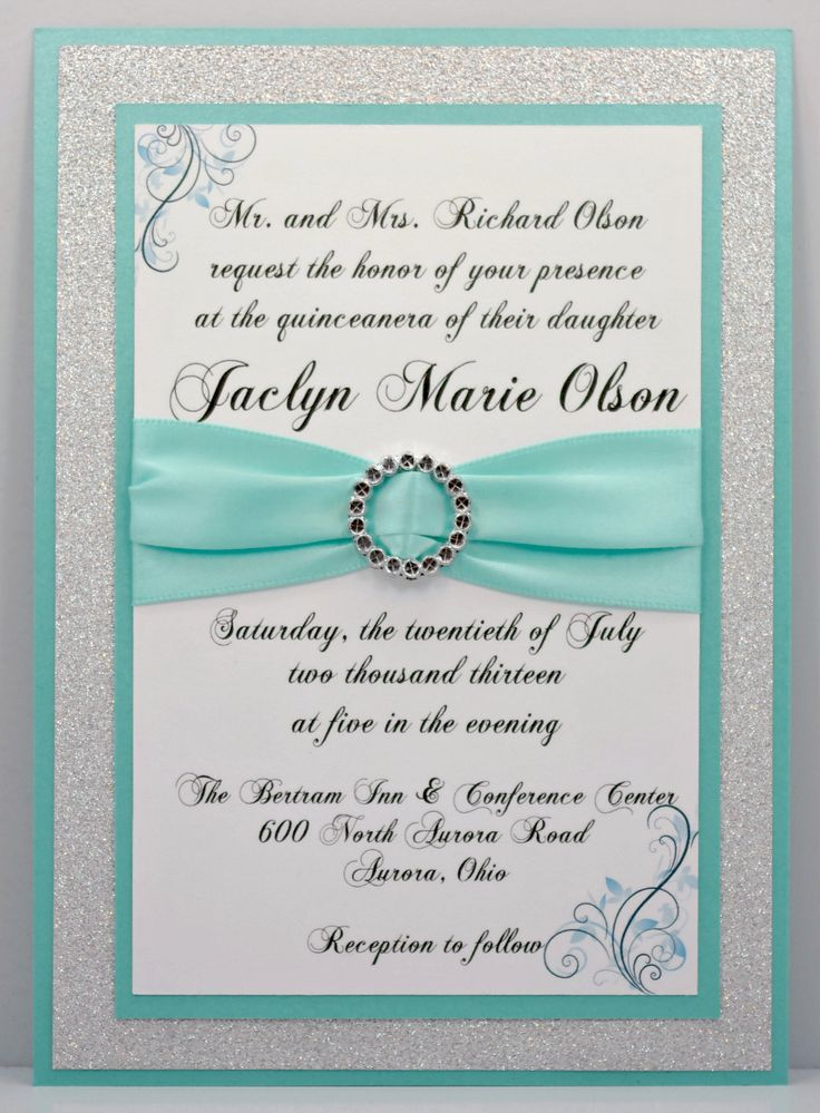 15 Must-see Sweet 15 Invitations Pins | Quinceanera invitations ...