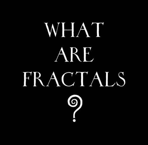 """~ Wander and Wonder ~ What are fractals? A fractal is an object or quantity that displays self-similarity, in a somewhat technical sense, on all scales. The object need not exhibit exactly the same structure at all scales, but the same """"type"""" of structures must appear on all scales"""