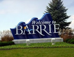 Barrie is a city in Southern Ontario, Canada, on the western shore of Lake Simcoe. Although located in Simcoe County