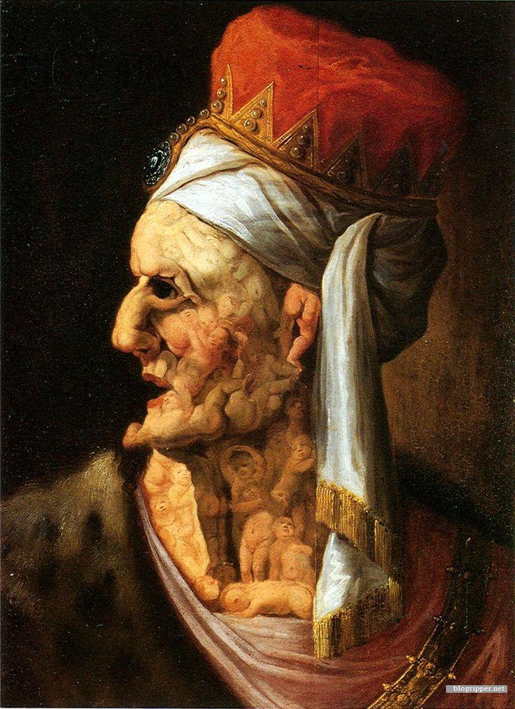 Herod, Arcimboldo, 17th century, Innsbruck, Tiroler Landesmuseum Ferdinandeum