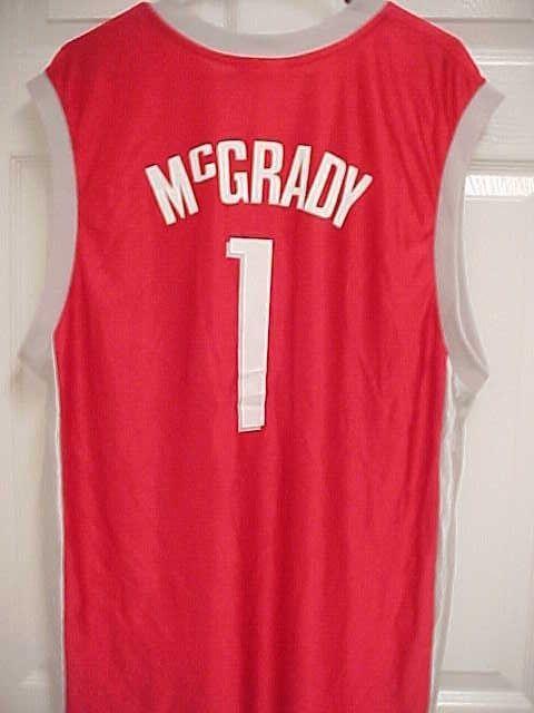 a24ef05538b TRACY McGRADY 1 Houston Rockets Red Basketball Jersey L NBA Shop  NBA   HoustonRockets