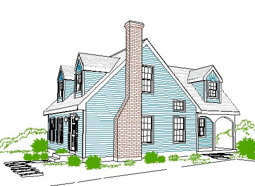cape cod house addition ideas