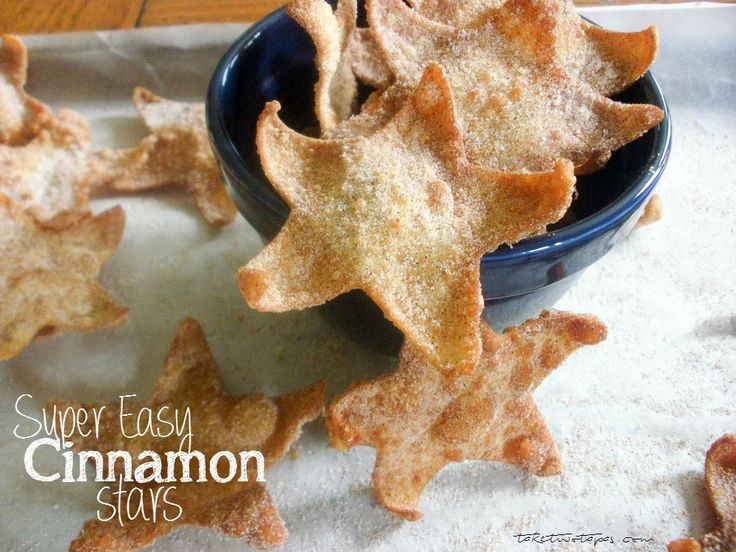 Super Easy Cinnamon Stars | taketwotapas.com