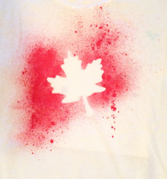 Canada Day Shirts by SplatAndCo on Etsy, $20.00