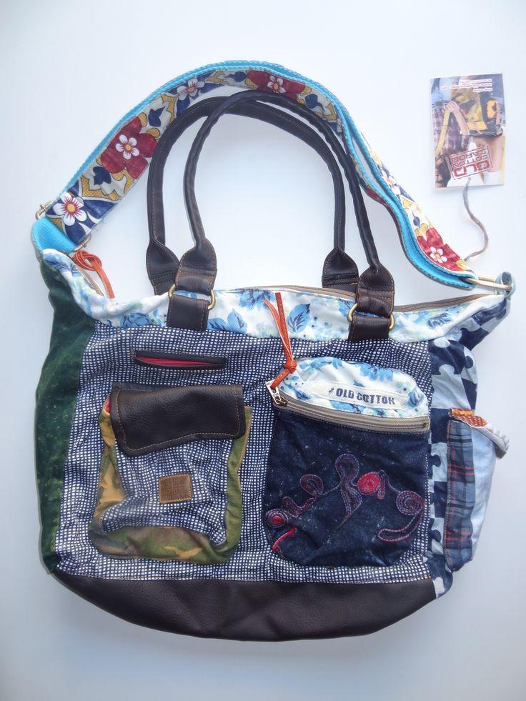 Old Cotton Cargo Bag - BAG#25 (59,- €)
