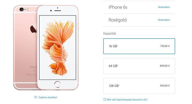 """Apple erhöht iPhone 6S Preise: Warum das neue iPhone teurer ist - https://apfeleimer.de/2015/09/apple-erhoeht-iphone-6s-preise-warum-das-neue-iphone-teurer-ist - iPhone 6S wird teurer? Apple erhöht die iPhone 6S Preise in Deutschland? Auf dem gestrigen Apple Special Event 2015 war neben dem iPad Pro und dem neuen Apple TV sicherlich das neue iPhone 6S und 6S Plus der wichtigste Publikumsmagnet. Apple kündigt beide Geräte zum """"gleichen Preis der Vo..."""