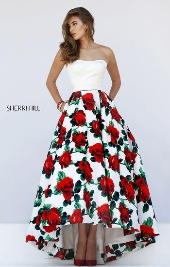 Sherri Hill 50027                                                                                                                                                                                 Más