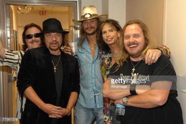 Billy Powell  Musicians~ Billy Powell, Gary Rossington, Kid Rock, Steven Tyler and ...