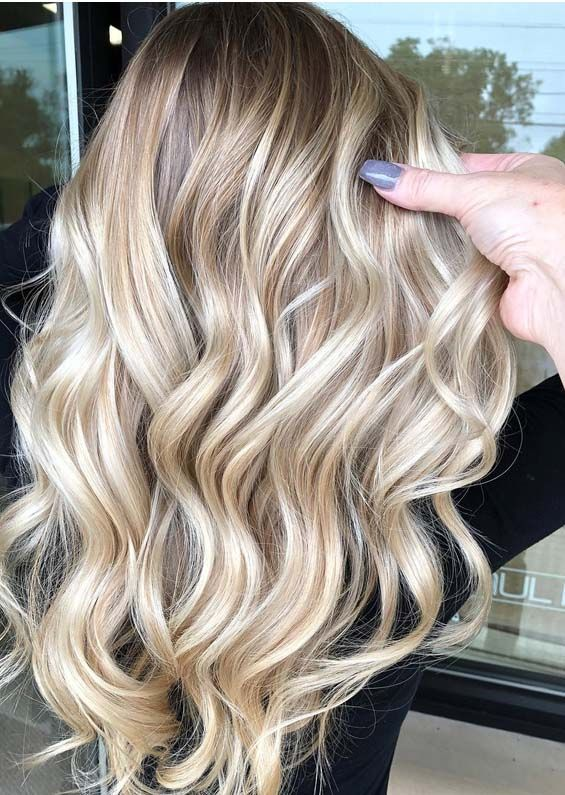We Have Tried Our Best To Present Here The Most Amazing Styles Of Long Blonde Hairstyles That Are Most Sui Hair Transformation Blonde Balayage Long Blonde Hair