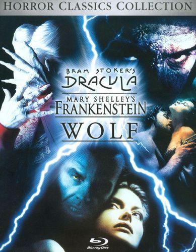 Bram Stoker's Dracula/Mary Shelley's Frankenstein/Wolf [3 Discs] [Blu-ray]