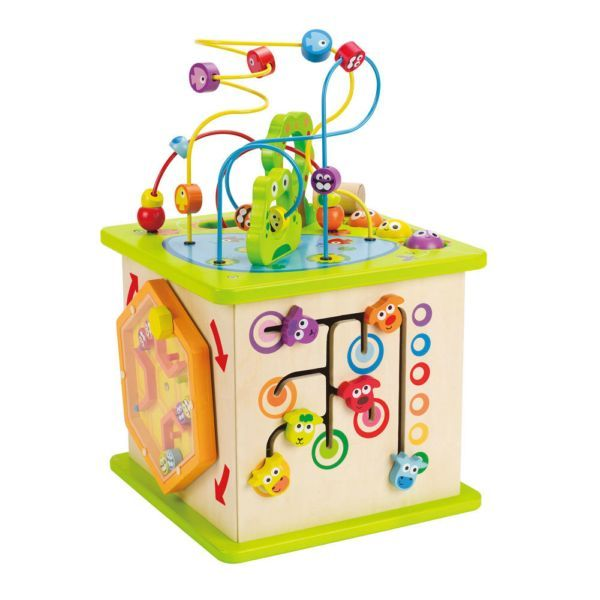 Hape Country Critters Activity Play Cube Maze