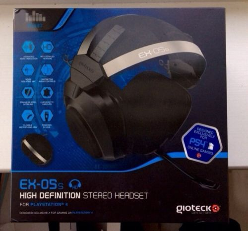 Gioteck EX-05s HD Wired Gaming Headset - PlayStation PS4 Best Price On eBay