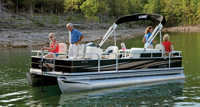 25 best ideas about lowe pontoon boats on pinterest for Fishing deck boats