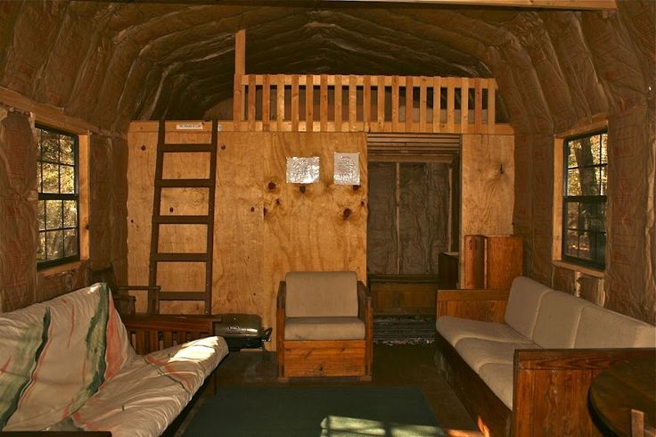 Portable Cabin Interiors This Large Cabin Has Lots Of