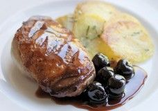 Skeaghanore Duck Breasts with Black Cherries - Kevin Dundon