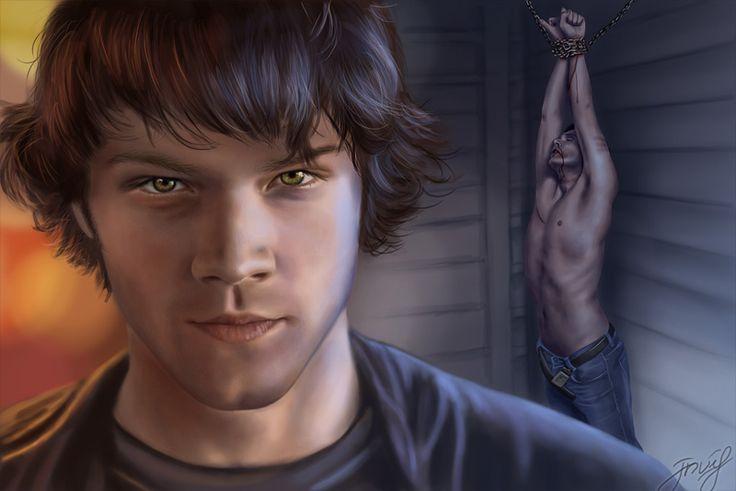 Look at me, trust me by *vongue on deviantART(Dean Winchester / Sam Winchester, Wincest, Jensen Ackles, Jared Padalecki, Supernatural Fanart)