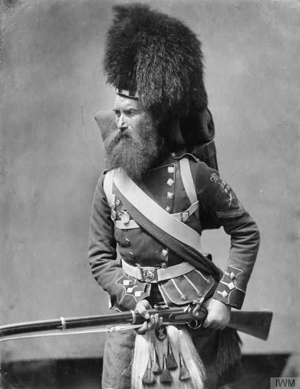 Crimean War veteran Color Sergeant William Gardner, 42nd Royal Highlanders. © IWM (Q 71643)