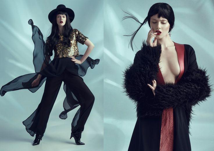 Soul Fashion. Zdjęcia:Joanna Kustra, makeup: Joanna Stawowy/Beauty Rebel, stylizacja: Ellie Łazarczyk, modelka:Sylwia Sordyl