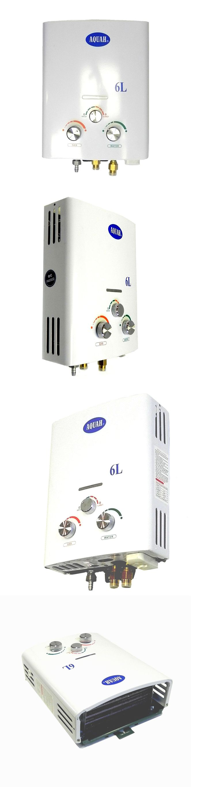 Tankless Water Heaters 115967: Aquah® Outdoor Portable Propane Tankless Gas Water Heater 6L Up To 2.0 Gpm -> BUY IT NOW ONLY: $99.5 on eBay!