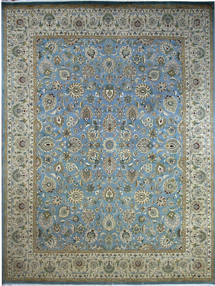 Beautiful rug with Shah Abbas field.  http://www.alrug.com/4390