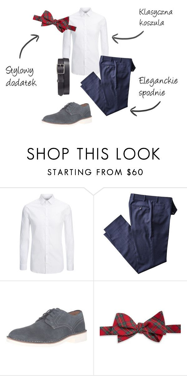 """Christmas eve"" by thealine2014 on Polyvore featuring Joseph, John Varvatos, Brooks Brothers, Frye, men's fashion i menswear"