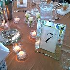 #crystal #candelabras #glass @fortScratchley function Centre #Newcastle #beige #tablecloths #mirrored #frames