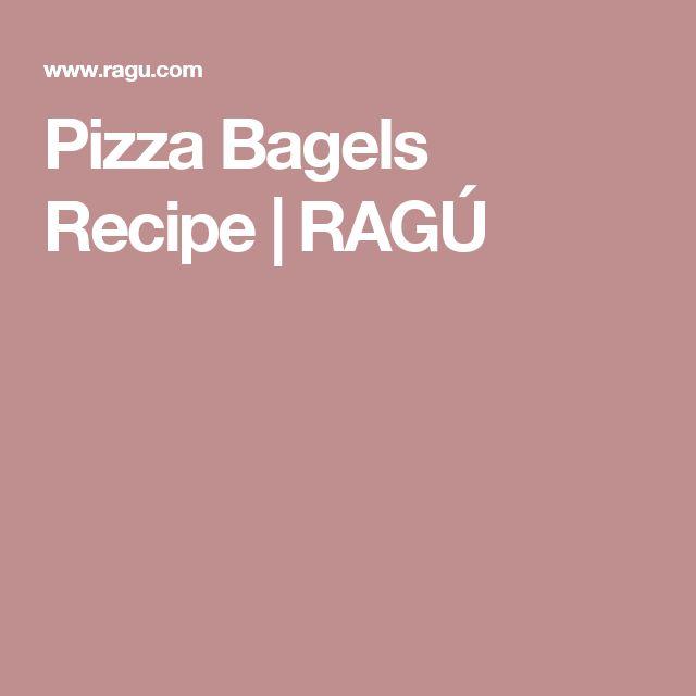 Pizza Bagels Recipe   RAGÚ